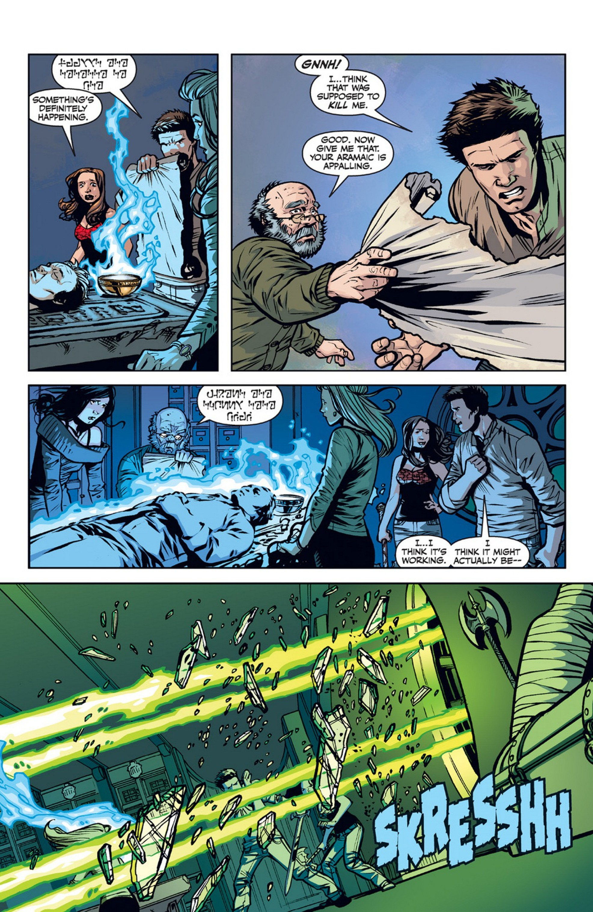 Read online Angel and Faith comic -  Issue #21 - 18