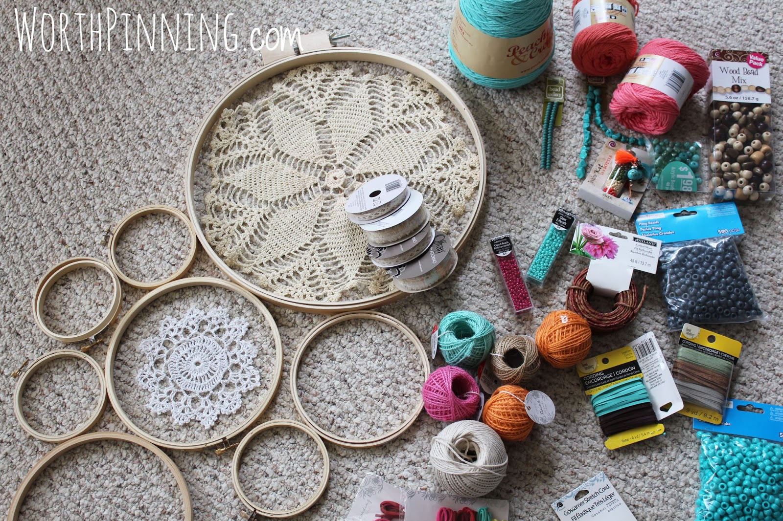 worth pinning how to make a dreamcatcher