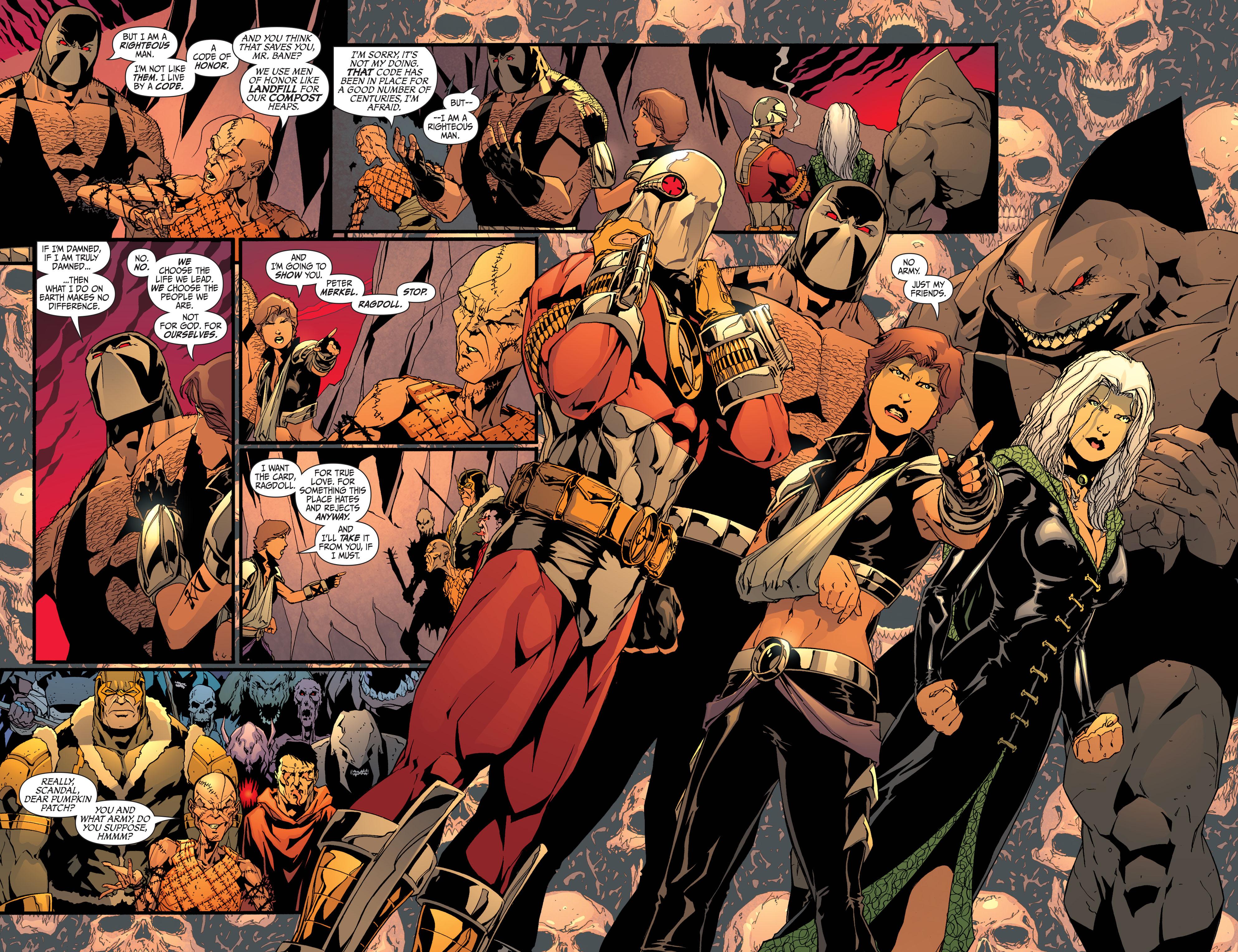 Read online Secret Six (2008) comic -  Issue #32 - 16