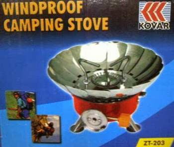 Kompor Gas Portable Mini Windproof Camping Stove Outdoor