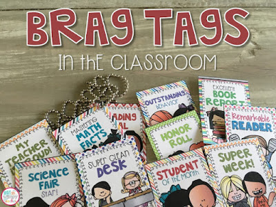 http://www.notsowimpyteacher.com/2015/06/brag-tags-in-classroom.html