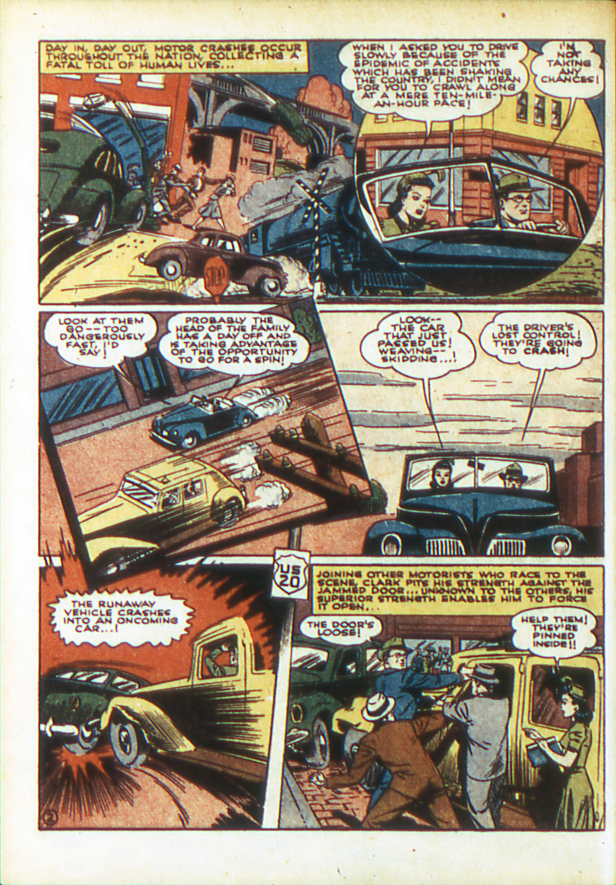 Read online Action Comics (1938) comic -  Issue #48 - 4