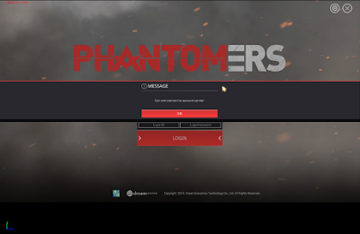 Solusi Masalah Phantomers Online Can Not Connect to Account Server