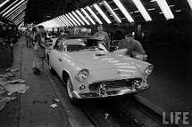 Fortuna Classic Assembly Plant 1955 Thunderbird