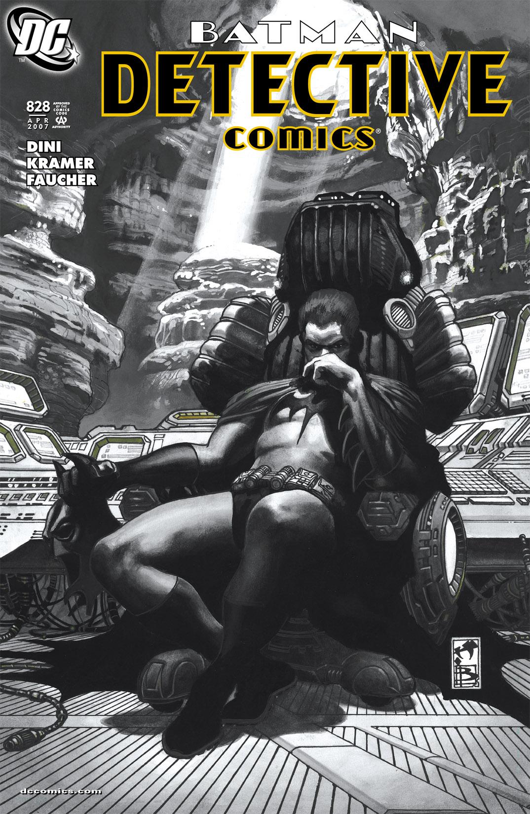 Detective Comics (1937) 828 Page 0