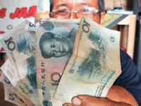 Heboh, Mata Uang Tiongkok Mulai Beredar di Masyarakat
