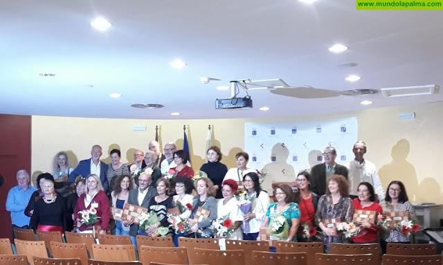 La Gerencia de Servicios Sanitarios de La Palma homenajea a sus trabajadores jubilados