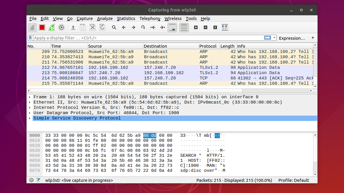 Install Wireshark 2 9 1 on Ubuntu (18 04 bionic, 18 10 Cuttlefish