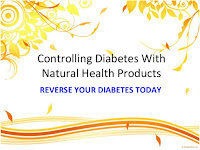 Controlling diabetes with natural health products