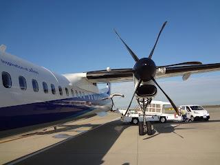 ボンバルディア DHC8-Q400のプロペラ