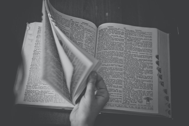 A dictionary is a great tool to translate practical words and phrases when traveling to a foreign country