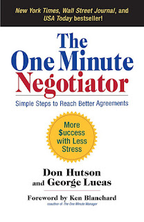 Book Cover - The One Minute Negotiator