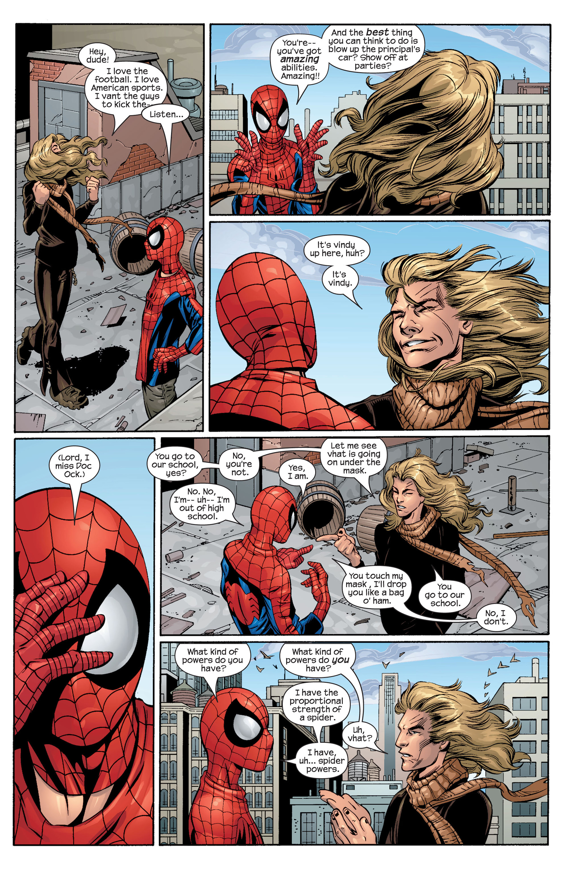 Read online Ultimate Spider-Man (2000) comic -  Issue #42 - 10