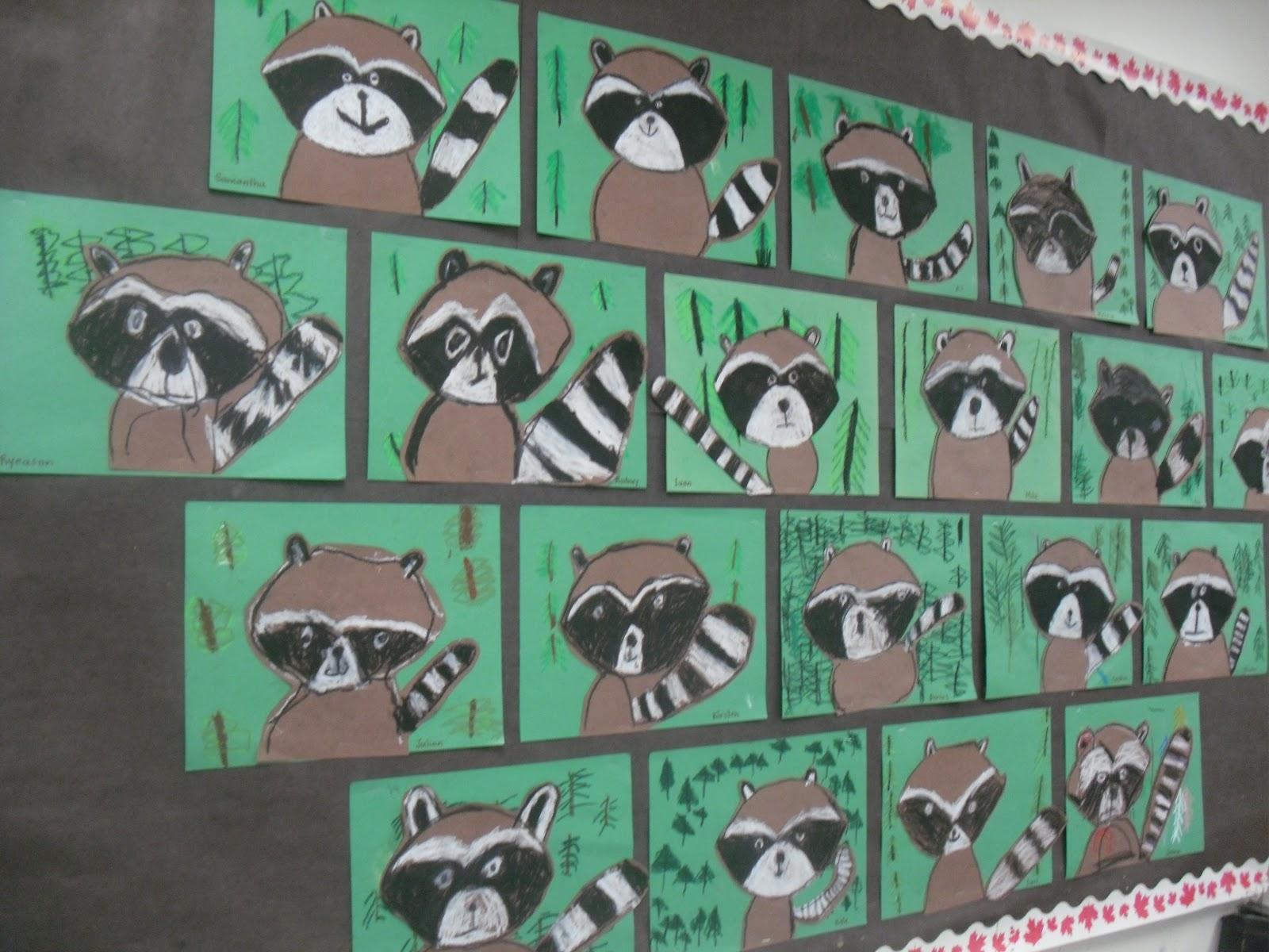 Artventurous Raccoons