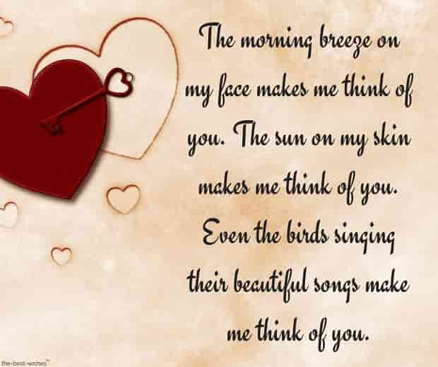 romantic poem love message image