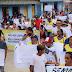 Trabalhadores do SUAS em Benjamin Constant fazem manifestação contra o Governo Federal
