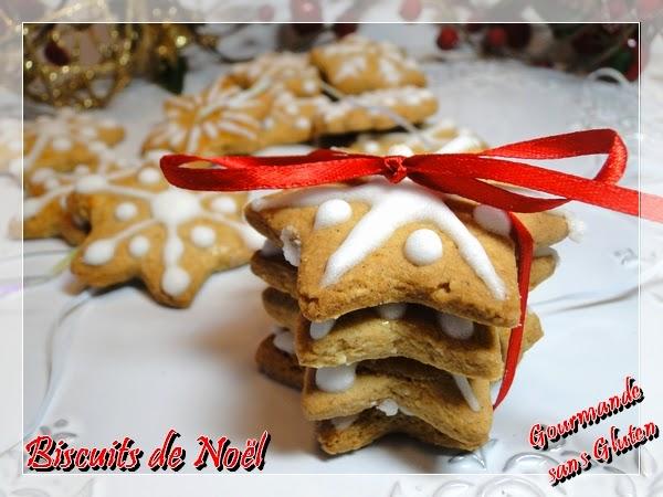 Gourmande Sans Gluten Biscuits De Noel Sans Gluten