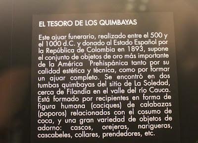 Tesoro de los Quimbayas