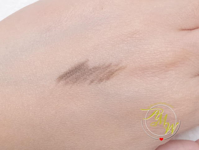 a swatch photo of IT Cosmetics Brow Powder Universal Brow Pencil Review