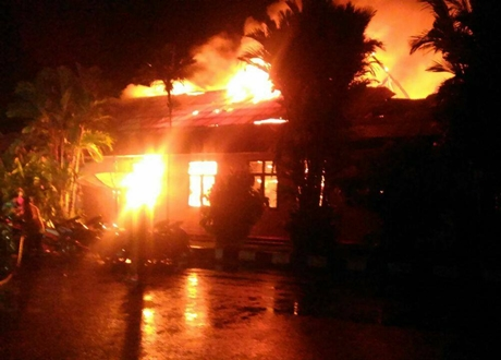 Mapolres Dharmasraya Dibakar, Pelaku Diduga Komplotan Teroris