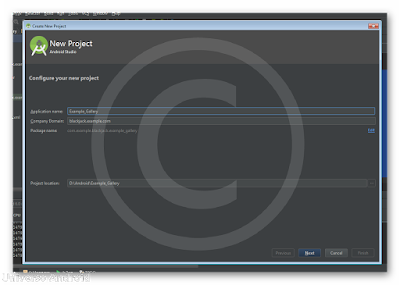 Android Studio - Gallery