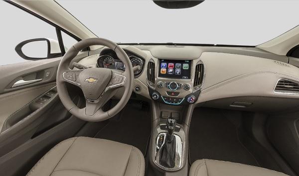 Interior Chevrolet Cruze 2 LTZ