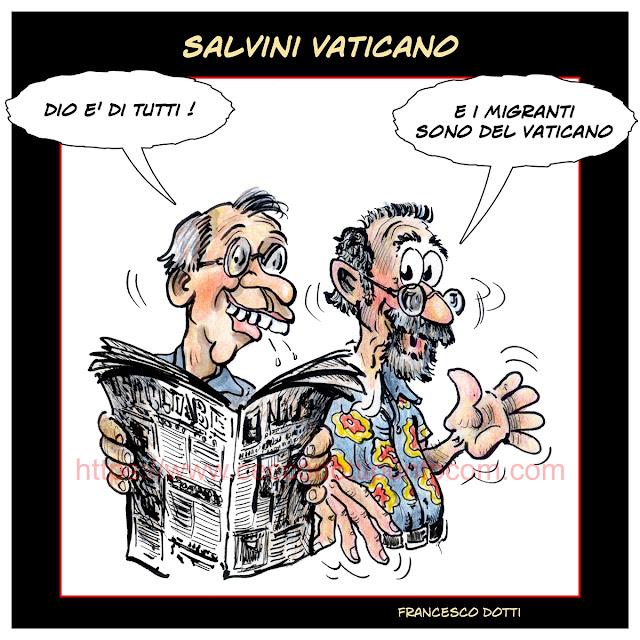 Salvini e la Chiesa