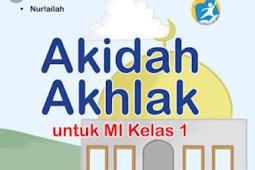 Materi Lengkap Buku Akidah Akhlak Kelas 1 SD/MI Kurikulum 2013 BSE