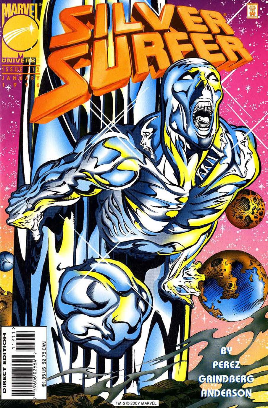 Silver Surfer (1987) Issue #112 #120 - English 1