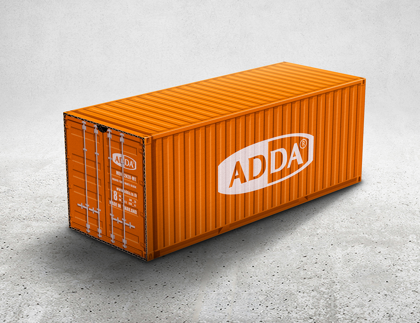 Adda Container Shoe Box On Packaging Of The World
