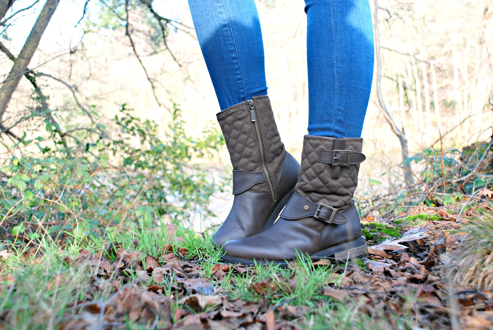 Barbour International boots