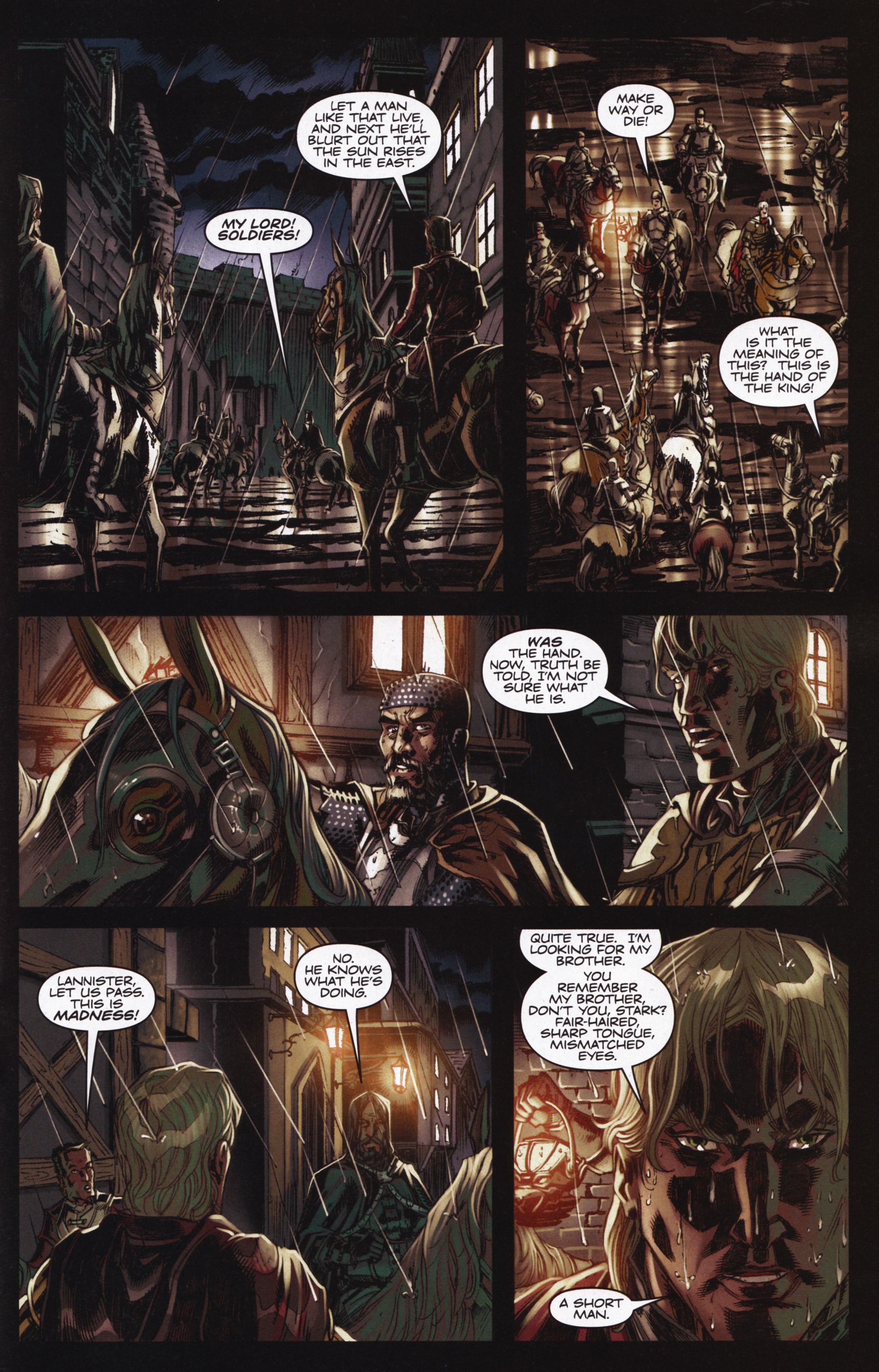 Read online A Game Of Thrones comic -  Issue #12 - 27