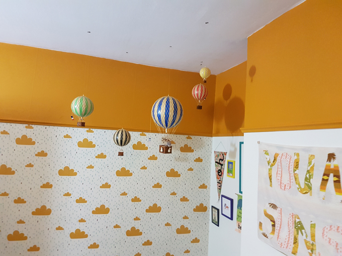 DIY decorating a childs space home tour http://www.archieandtherug.com/