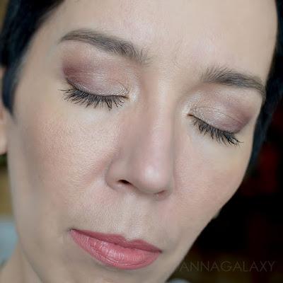 Сливовый макияж с Палеткой теней Makeup Revolution Re-Loaded Basic Mattes