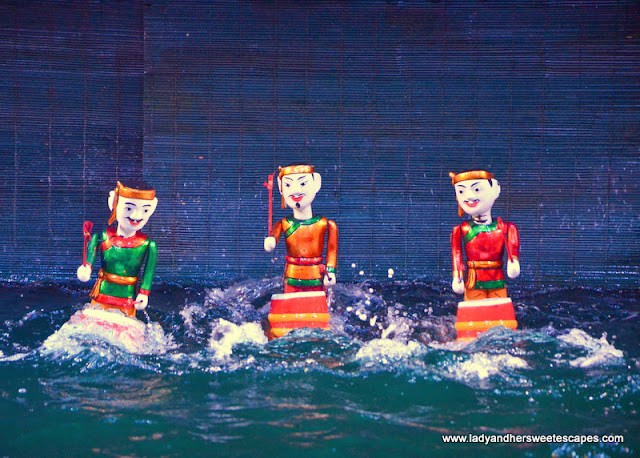 Water Puppet Show in Thang Long Theater