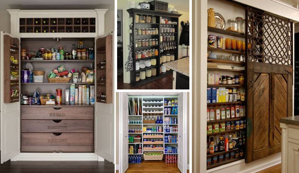 15 Pantry Cabinets Storage Drawers And Organization Ideas