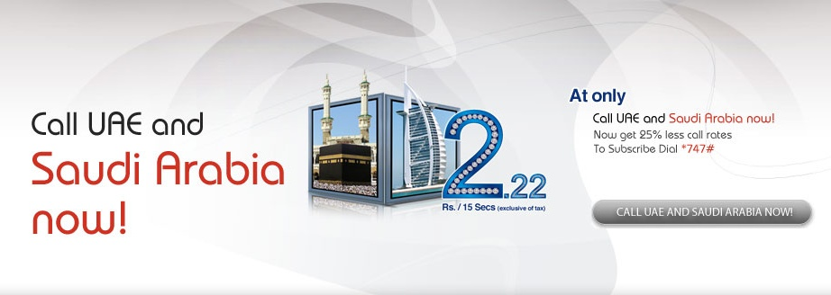 Zong offers New call rates for Saudi Arabia & UAE @ 2 22 / 15 Sec