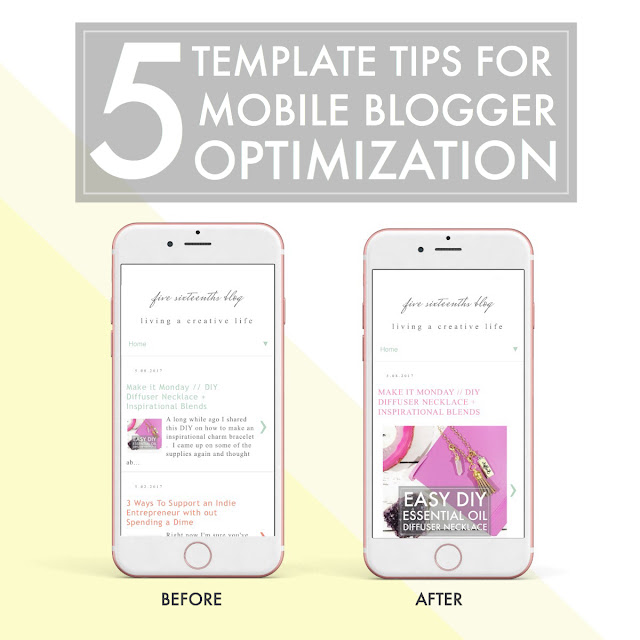 5 Mobile Optimization Tips for Blogger