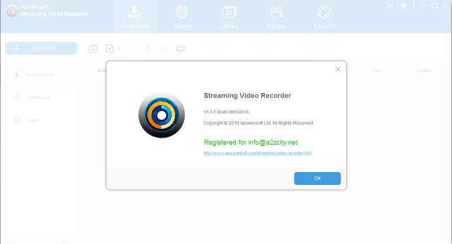 Apowersoft Streaming Video Recorder 6 Crack