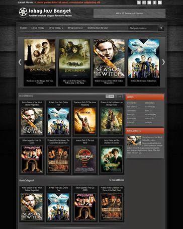 Johny joss banget blogger template download - Blogspot Film