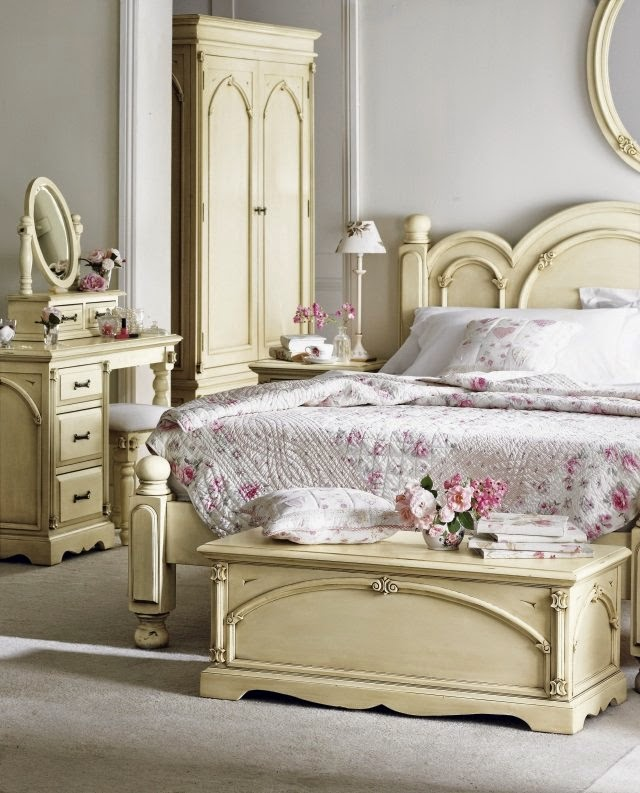 Shabby Chic Bedroom Decorating Ideas: Design In The Shabby Chic Look