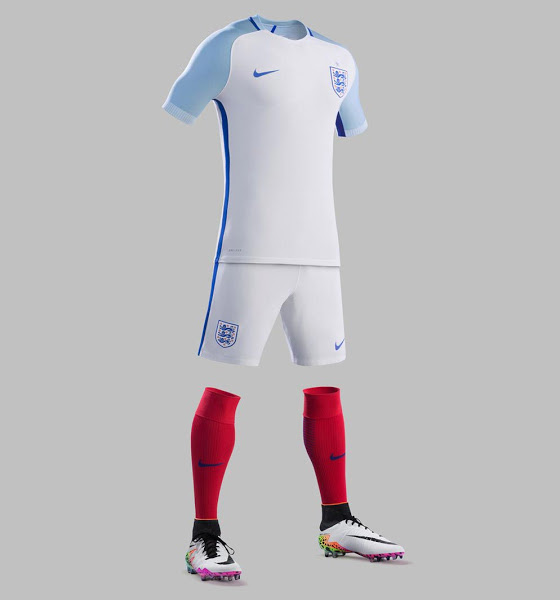England Euro 2016 Kit | New Home, Away Jersey