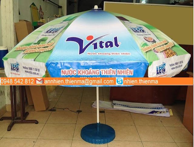 Dù quảng cáo nước khoáng Vital