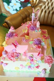 Chloe Kerr Cake Girls Fairy Garden Birthday Cake