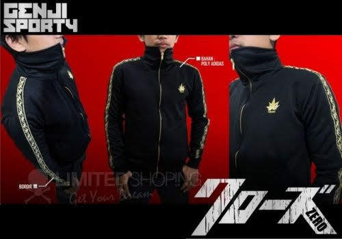 limited shoping jaket genji sporty edition sporty_2