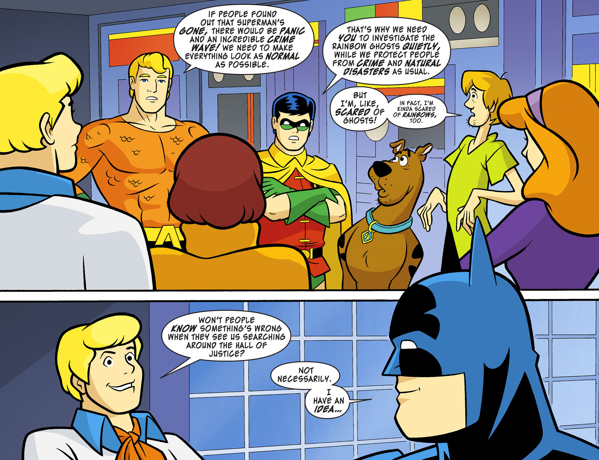 Read online Scooby-Doo! Team-Up comic -  Issue #11 - 8