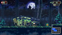 The Mummy Demastered - Great pixel art - First area - Night