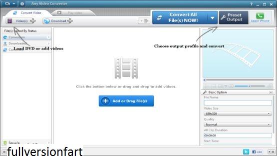 Any Video Converter Screenshot 1