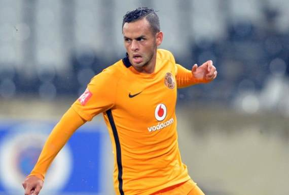 Kaizer Chiefs forward Gustavo Paez
