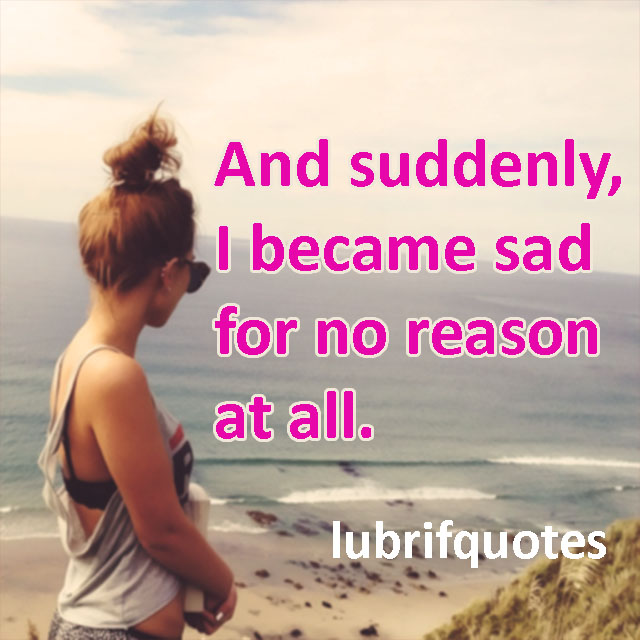 sad quote that will touch your heart, try not to cry - lubrifquotes